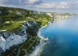 Thracian Cliffs Golf & Beach Resort in Bozhurets, Bulgarien bei Golftime Tours