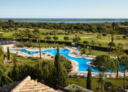 Trainingsreise mit PGA Professional Andrea Bandorfer: Ab € 1.390,- in Huelva, Spanien bei Golftime Tours