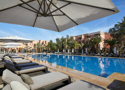 Mövenpick Hotel Mansour Eddahbi 5* Marrakech ab € 1.159,00 in Marrakech, Marokko bei Golftime Tours